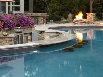 Concrete pools - Pictures of pools with swim up bars ...